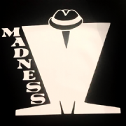 MADNESS RINGER T-SHIRT (BLACK AND WHITE)